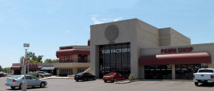 Commercial Real Estate Retail Shopping Center Renovation Concept